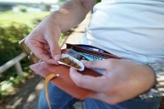 Tabakbeutel zum drehen von Zigaretten